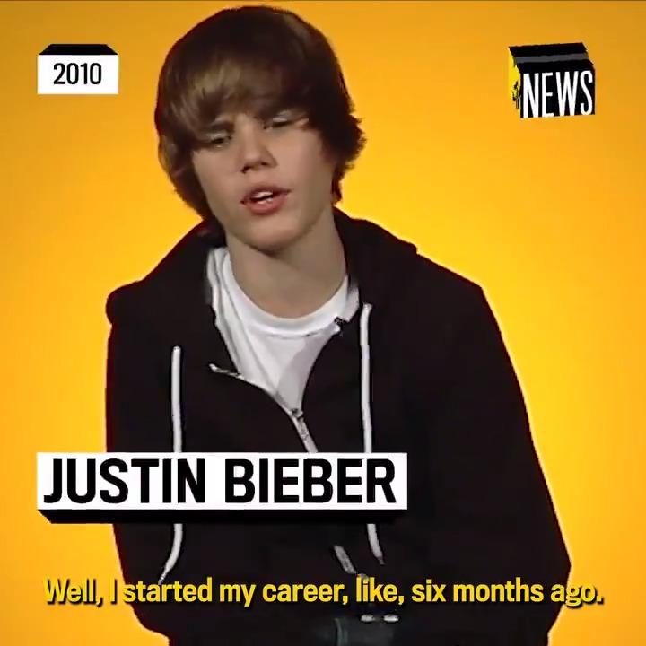 The only thing I'll be thinking about today is this 2010 interview @justinbieber did with @MTVNews, where he talked about getting his start in music. 💛