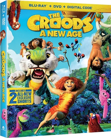 #AD Enter to win The Croods - A New Age on Blu-Ray DVD on the #TwoClassyChics Blog  Ends 3-13 #Giveaway