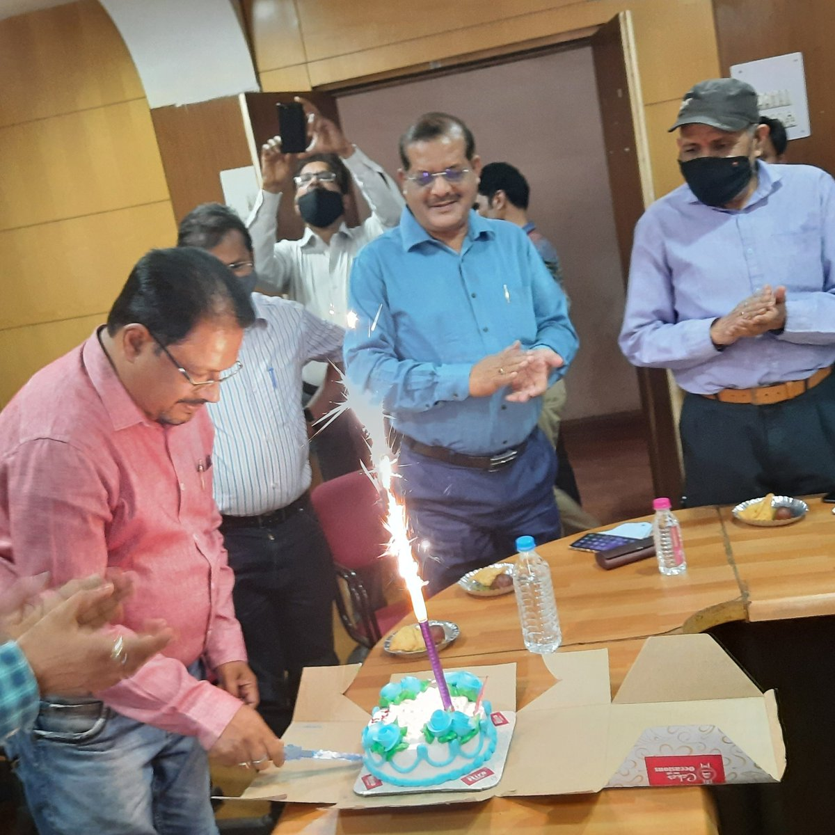 #My 56th Birthday Celebrated at my office