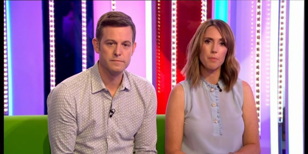 """The One Show's Alex Jones says Matt Baker is """"really happy"""" since leaving the show:    #TheOneShow"""