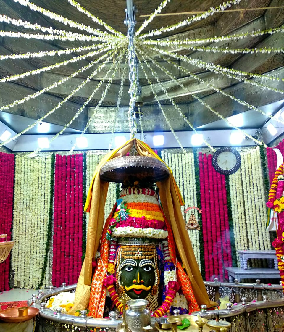 श्री महाकालेश्वर ज्योतिर्लिंग संध्या आरती श्रृंगार दर्शन   सोमवार (01 मार्च) #Mahakaleshwar #mondaythoughts #Ujjain #MadhyaPradesh