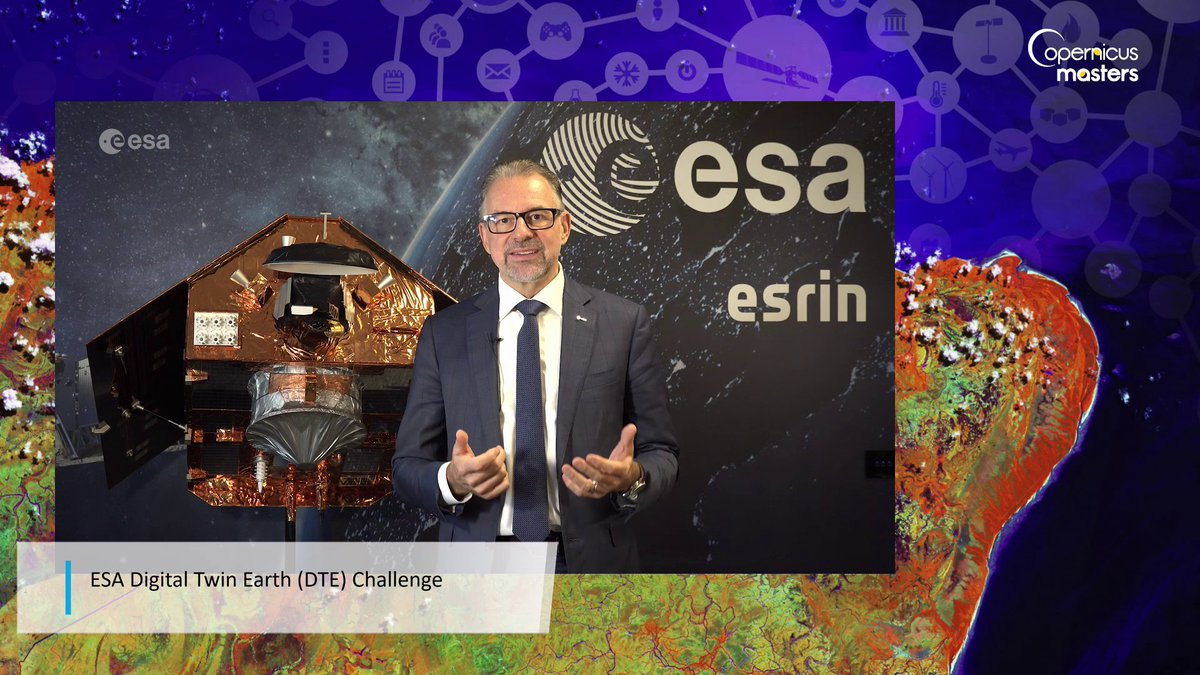 @AschbacherJosef has supported the #CopernicusMasters from the very beginning. Congratulation on your new role as the Director-General of @esa and we look forward to working closely together to ensure the benefits of space reach everyone! #Copernicus #EarthObservation #EUSpace