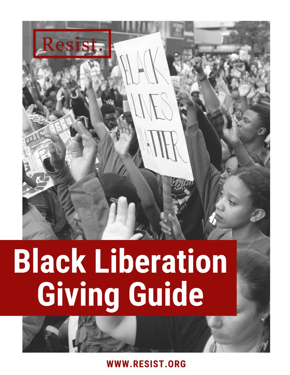 Yesterday was the last day of Black History Month, but supporting the work of Black liberation doesn't stop there. Download our Black Liberation Giving Guide to support the groups on the ground building Black futures every day of the year: tinyurl.com/4jarcpmf