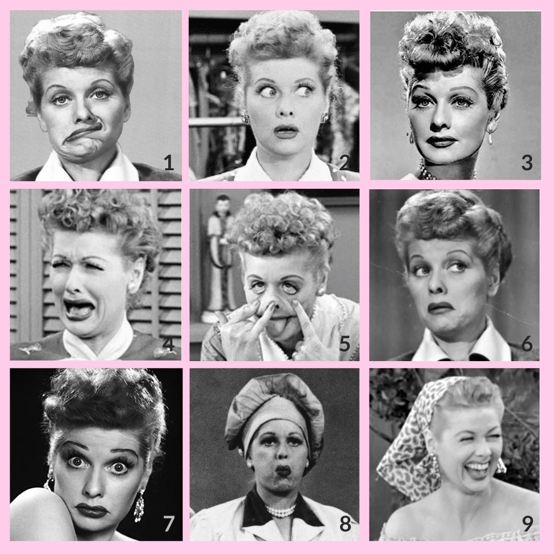 Gotta show some love to Lucille Ball on the first day of #WomensHistoryMonth. Which Lucy is your #MondayMood ?