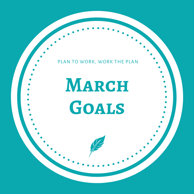 Welcome to the first day of March, y'all! Is it just me, or did February fly by?   How did things go in February? Did you accomplish everything you hoped to accomplish?   What are you looking forward to in March? What are your #goals?  #WritingCommunity #MondayMotivation