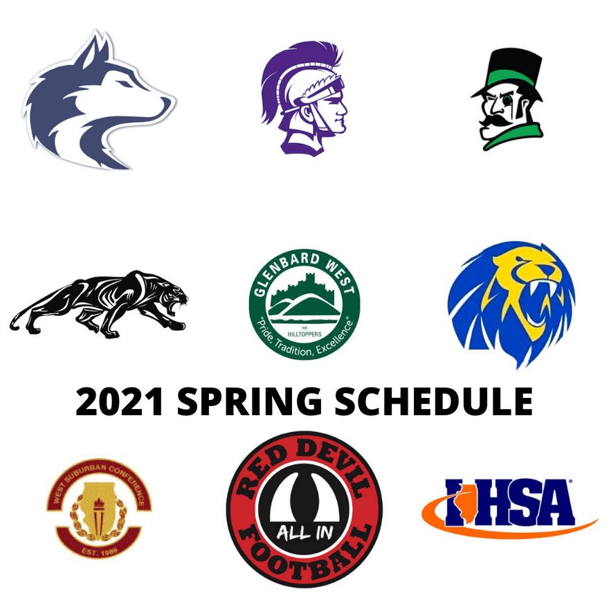 RED DEVILS 2021 Spring #WSC #IHSA #MondayMotivation