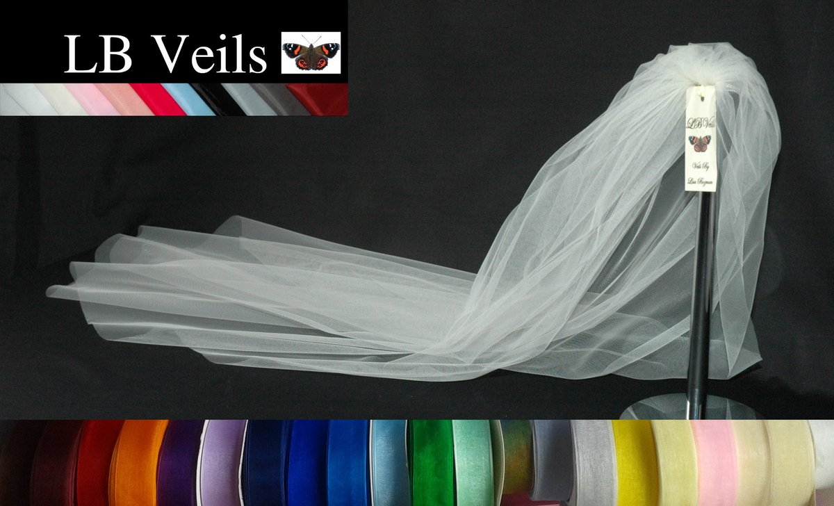 Ribbon Edge Wedding Veils 💕 Lots of Colours 🌈❤️🍾  #ResignSturgeon #BLM #boxing #photography #photooftheday #business #cryptoart #cryptocurrency #DragRaceUK #GoldenGlobes2021 #TRX #TAEHYUNG