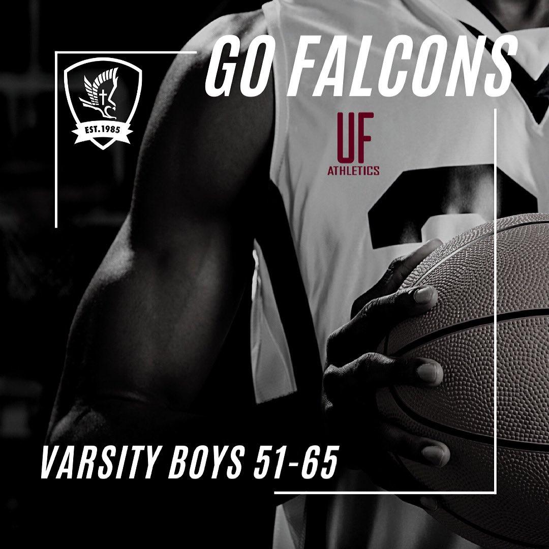 Great season #faithboys! #ufca #falconfamilies #ufbasketball https://t.co/aEMHrKSoFJ