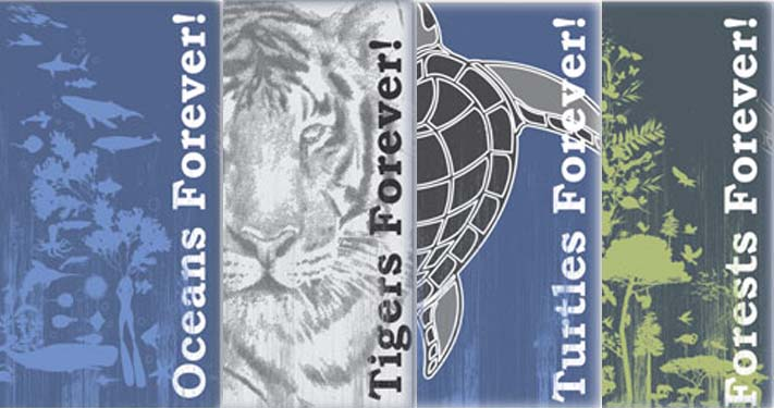 #mondaythoughts #nostalgic Wanted to raise funds to run a homegrown #environment film festival to showcase climate change. Released 4 #tshirts  in 2009  Concept = #forever, oceans forever, Tigers forever, forests forever, turtles forever #ClimateCrisis is real!
