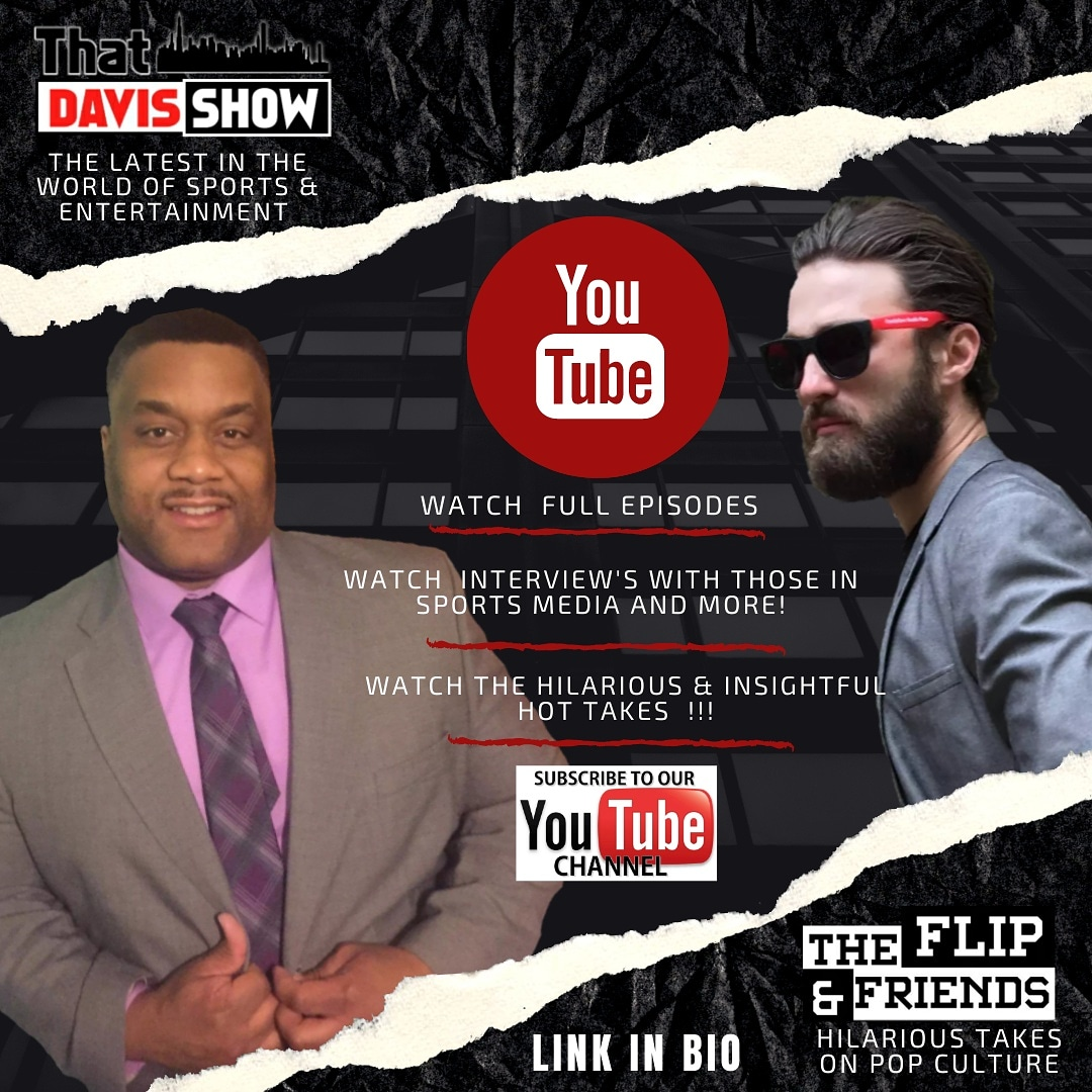 Watch full episodes and clips of That Davis Show or The Flip & Friends with @ThatsDavis & @ryanbski on That Davis Show Youtube Channel.   Subscribe Now!    #thatdavisshow #theflipandfriends  #chicago #YouTubers #podcastshow #popculture