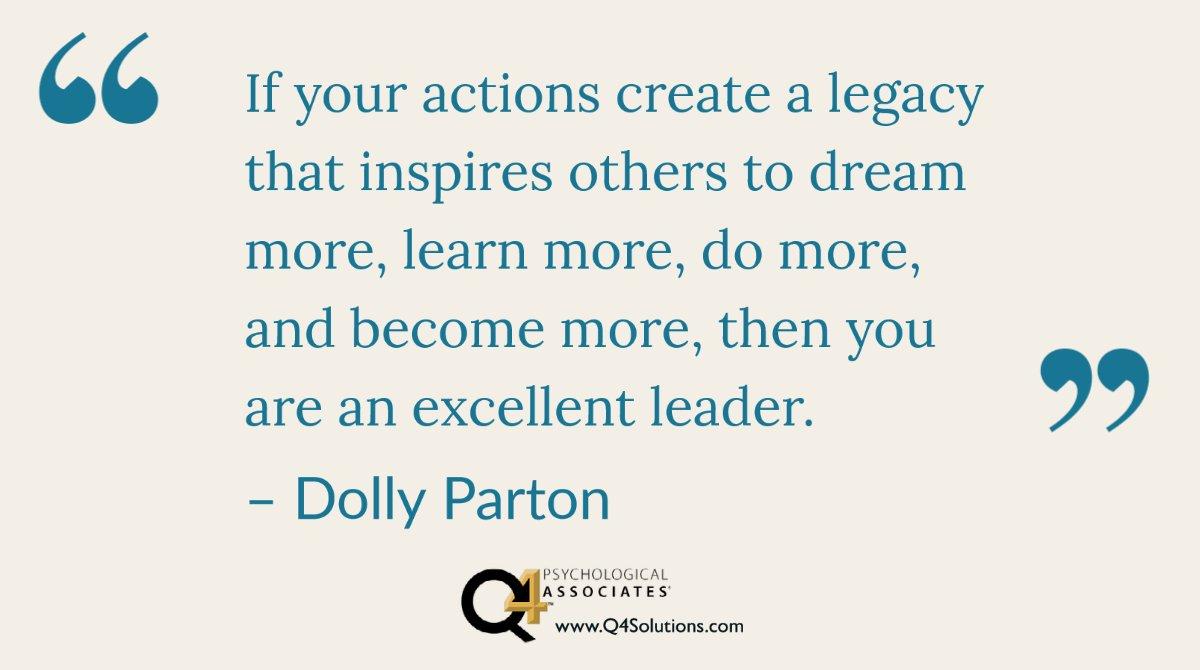 #Mondaymotivation #WomensHistoryMonth #LeadershipLessons #DollyParton