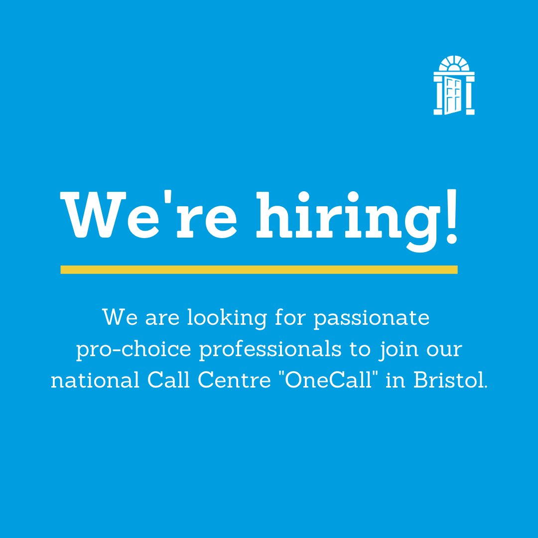 """(1/2) We are #hiring!  For our National Call Centre """"OneCall"""" in #Bristol, we are looking for: ✅ Clinical Practitioner  ✅ Right Care Manager  ✅ Integrative/Person Centred Telephone Counsellor  ✅ Health Advisor  ✅ Patient Systems Manager"""