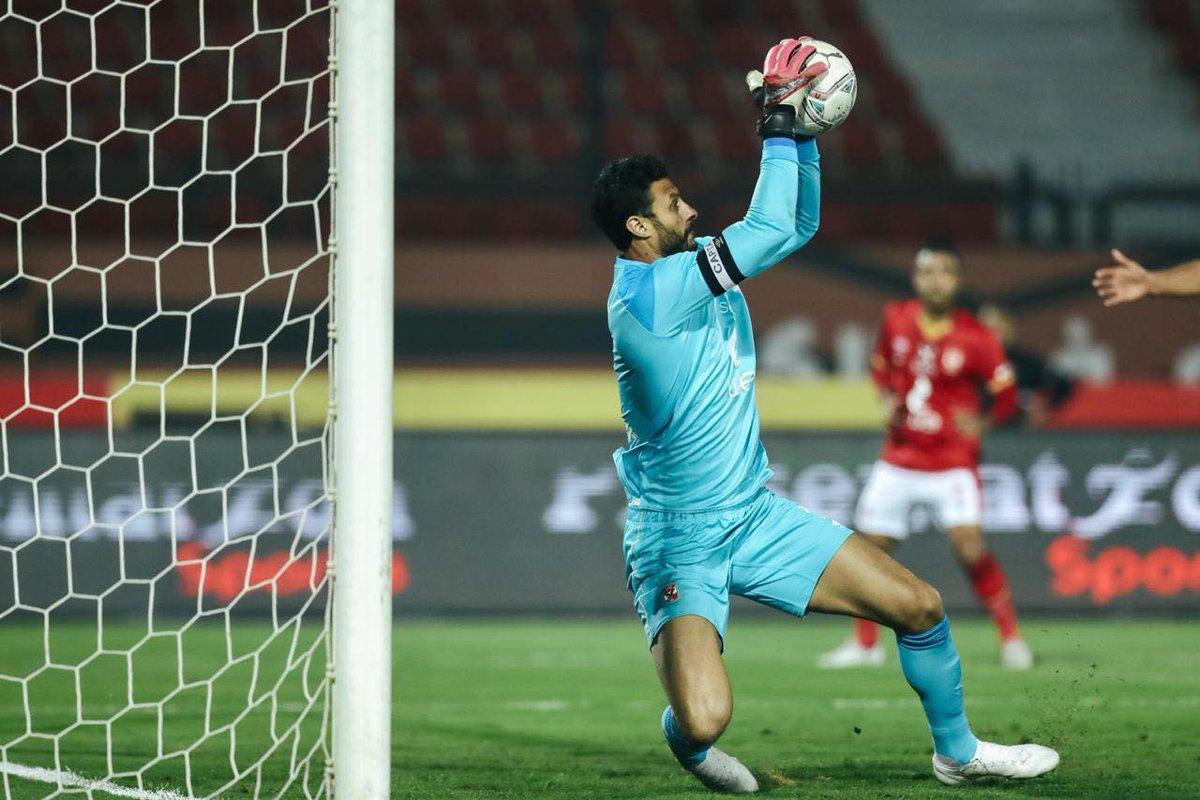 حصل محمد الشناوي على راحة سلبية من التدريبات بعد شكواه من كدمة تعرض لها في مباراة طلائع الجيش🦅️