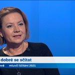 Image for the Tweet beginning: Tisková mluvčí a tvář Sčítání