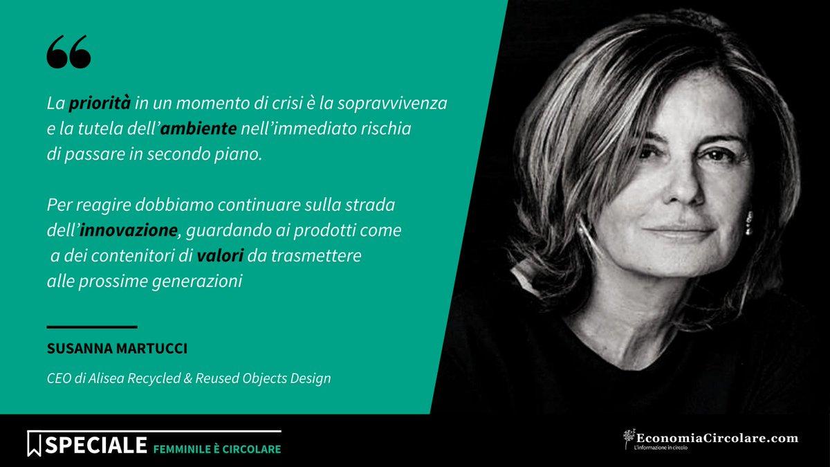 ♻ Susanna Martucci, l'imprenditrice che dai #rifiuti crea oggetti di #design.  📌 Vuoi saperne di più? Ti aspettiamo al #CircularTalk di giovedì #4marzo 'Donne ed #EconomiaCircolare: innovare e fare impresa è anche una questione di genere'.  ➡️ Partecipa: