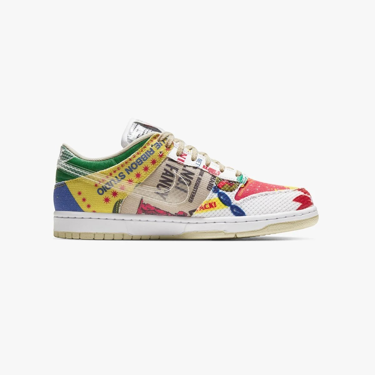 Overkill online raffle live for the Nike Dunk Low SP