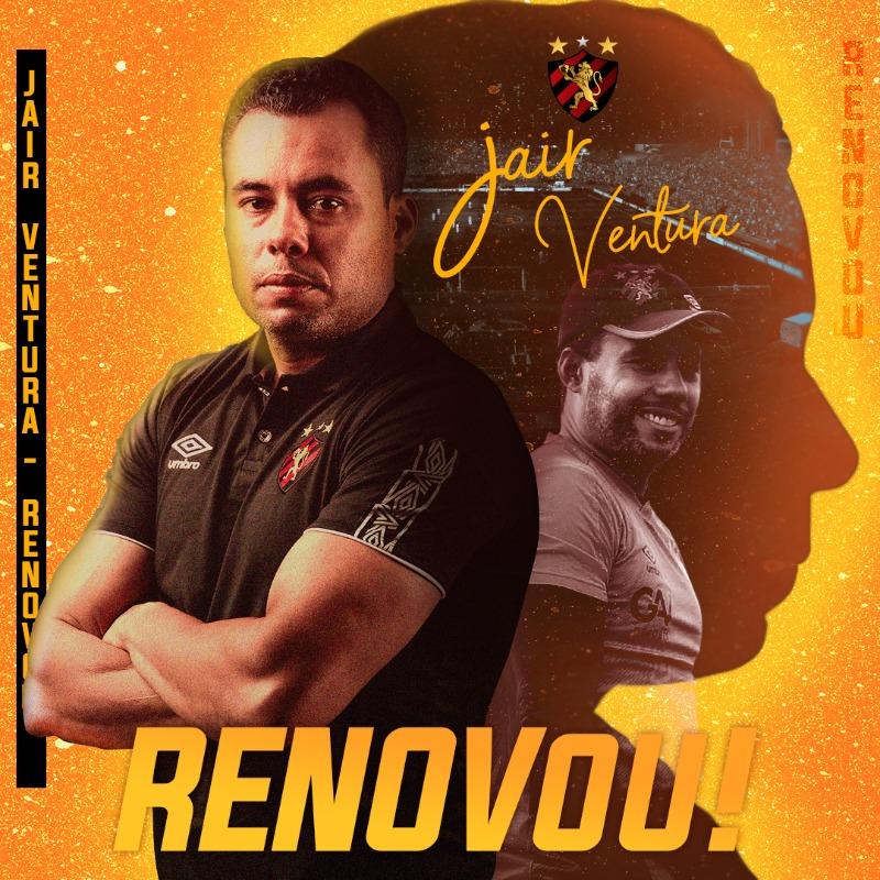 Renovação Jair Ventura com o Sport