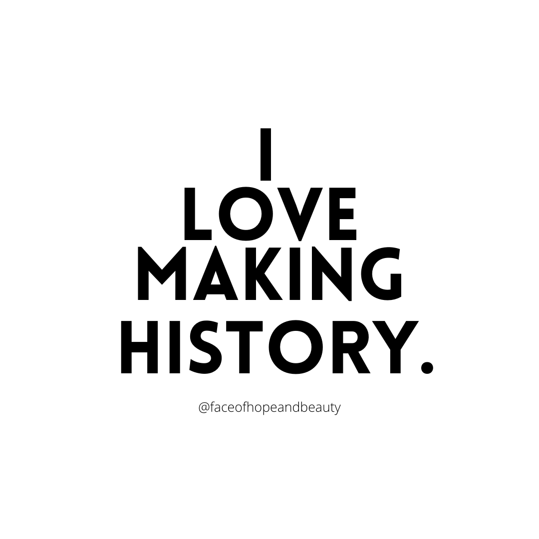 Ladies we are MAKING HISTORY!!    This world 🌎 needs your Beautiful Light! You are making a difference in your home, at your job, at your business, serving our country and just for being Who You Are, so never think nothing less 💥🙌🏼 #mondaythoughts #WomensHistoryMonth #ladies