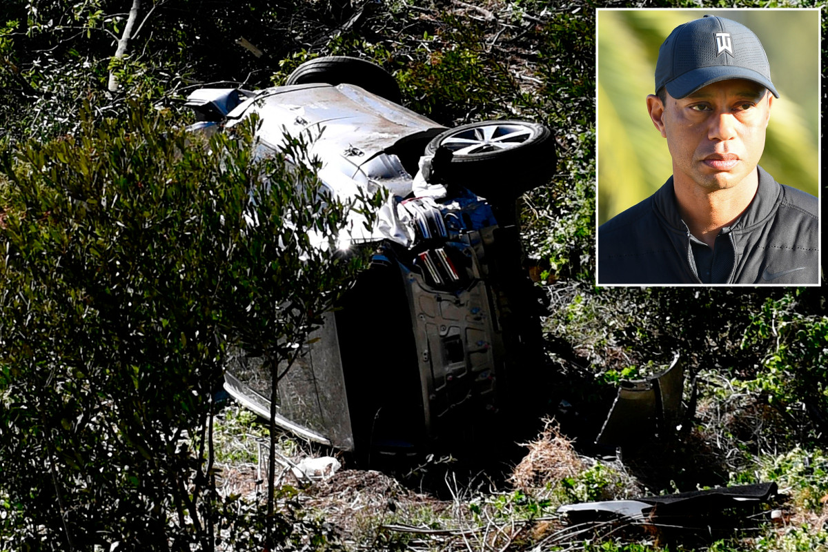 Forensic experts suggest Tiger Woods may have fallen asleep at the wheel