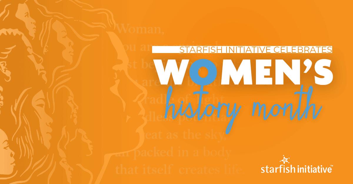 @starfish_in celebrates #WomensHistoryMonth
