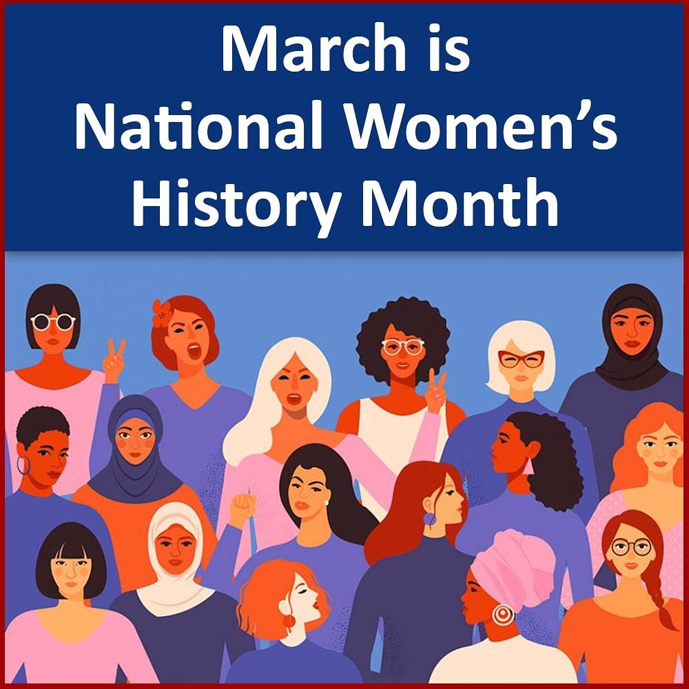 #WomensHistoryMonth