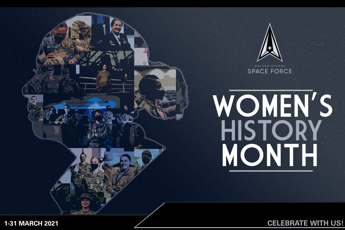This #WomensHistoryMonth, we salute all of our pioneering women who are building the Space Force into the first digital service.   A service that is, and will continue to be, at the forefront of integration, innovation and technology. The sky is not the limit. #SemperSupra
