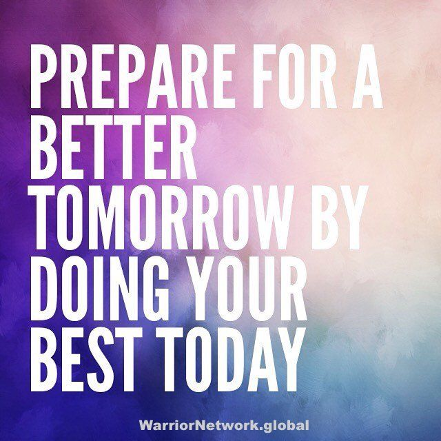 """""""Prepare for a better tomorrow by doing your best today"""" #MondayMotivation #mondaythoughts #Mondayvibes"""