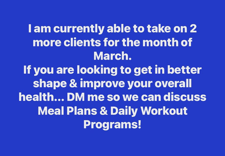 Slide in the DMs to discuss taking your fitness & overall health to the next level! #fitness #health #wellness #planning #programming #custom #training #workouts #daily #coaching #accountability #tracking #fit #beachseason #workout #train #program #specific #goals #gains #hustle