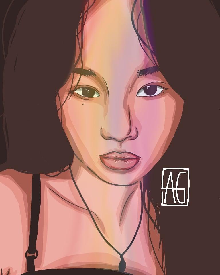 wait soojin best girl (◍•ᴗ•◍)❤  #GIDLE #SOOJIN #FANART @G_I_DLE