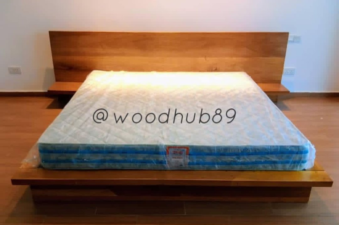 6 by 6 Japanese style inspired wooden bedframe.  Price: N200k NB: Purchase price excludes delivery fees. #ifeanyi #400k #with400k #furniture #Chioma #GoldenGlobes2021 #HappyNewMonth #IWD2021 #mondaythoughts #newmonth