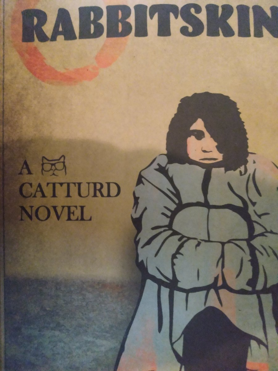 """@catturd2  I'm on chapter 16 of """"Rabbitskin"""" - my birthday present from my bride Robbin!  Great, quick reading, adventure/scifi novel Catturd!  I love the character's development & concept from the git go.   I lot of Catturd the man in Logan's character I betcha!  Excellent Sir!"""