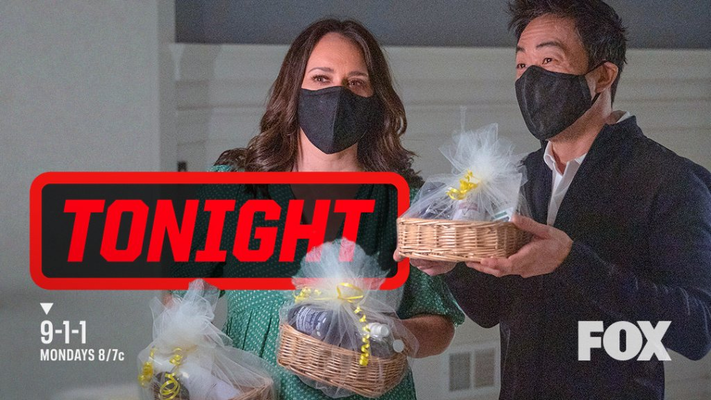 Replying to @911onFOX: We've got a present for you — a new episode of #911onFOX tonight at 8/7c! 🤗🎁