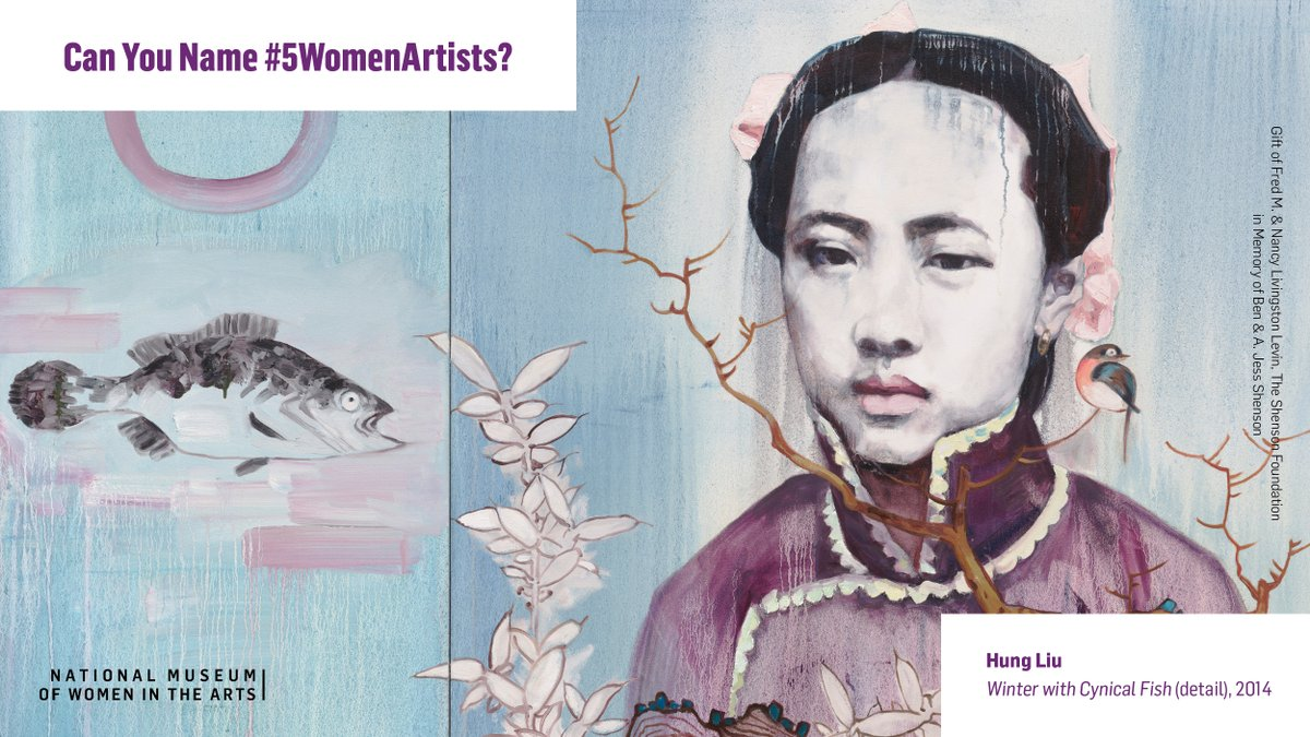 Happy #WomensHistoryMonth! 🎉  For 2021 and beyond, #5WomenArtists will be a year-round, museum-wide initiative encouraging everyone to champion women artists all year long—but don't worry! We'll still have special content for you, so stay tuned. https://bit.ly/3pARDe5