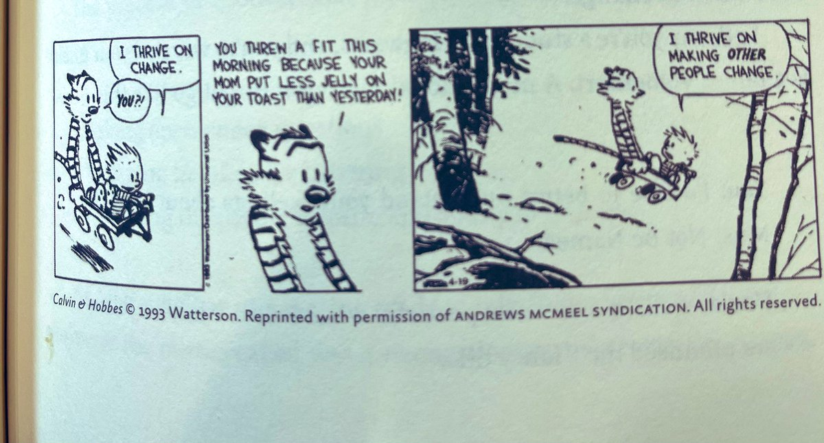 """#Mondayvibes """" It's a rare person who wants to hear what he doesn't want to hear"""" Dick Cavett in #Thinkagain @AdamMGrant @Calvinn_Hobbes #Change #Thrive #Resistance #Listening @joinClubhouse @KatColeATL @OfficialDHam #ThinkAgainclub @rahafharfoush"""
