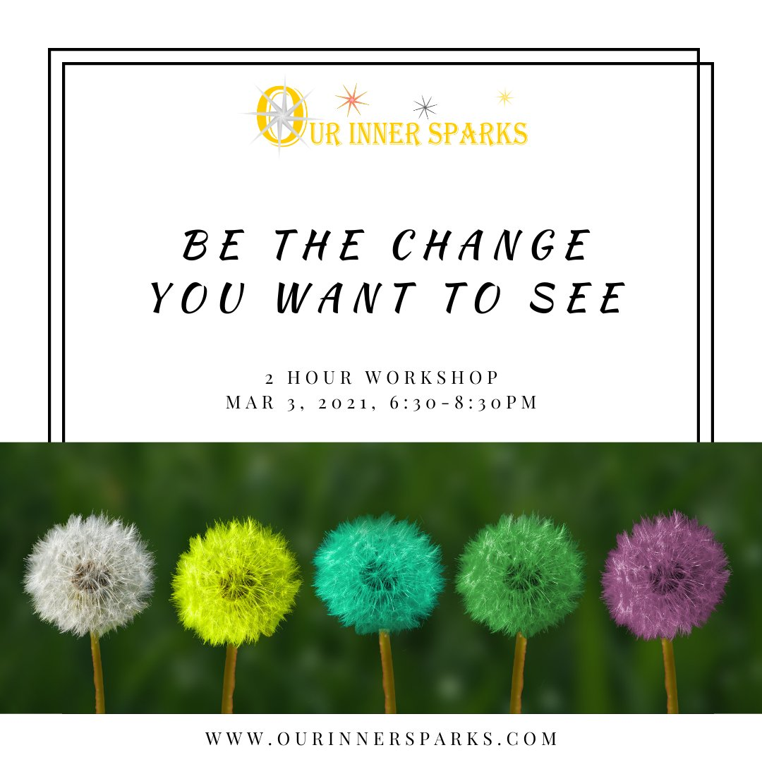 Ready to be the change you want to see?✨  We are offering a workshop on Mar 3, 6:30-8:30 pm EST to explore how our brain deals with change, how we can take charge, and seek the opportunities in any change.  Register now:   ✨#OIS #change #leadership #EQ