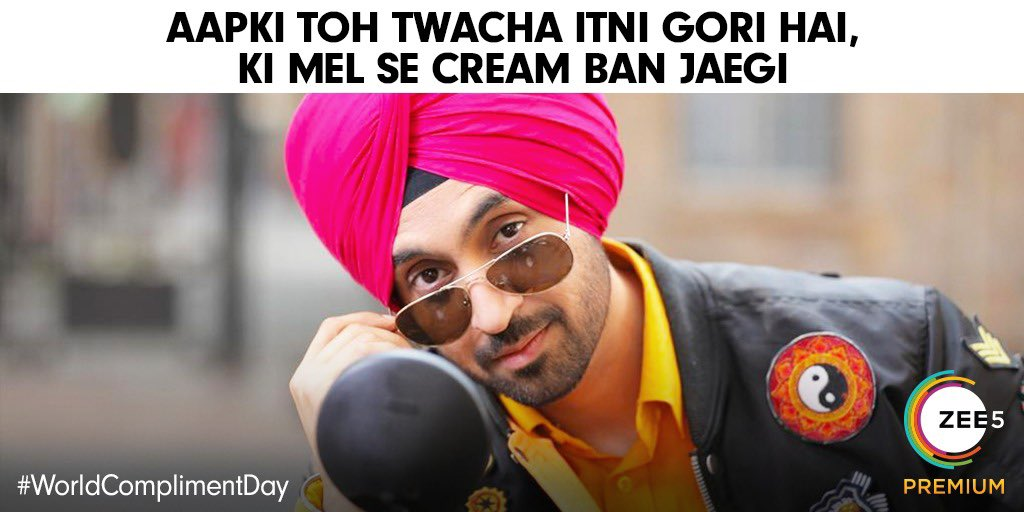 Drop your dil jeetne vaale one-liners in the comments. #WorldComplimentDay