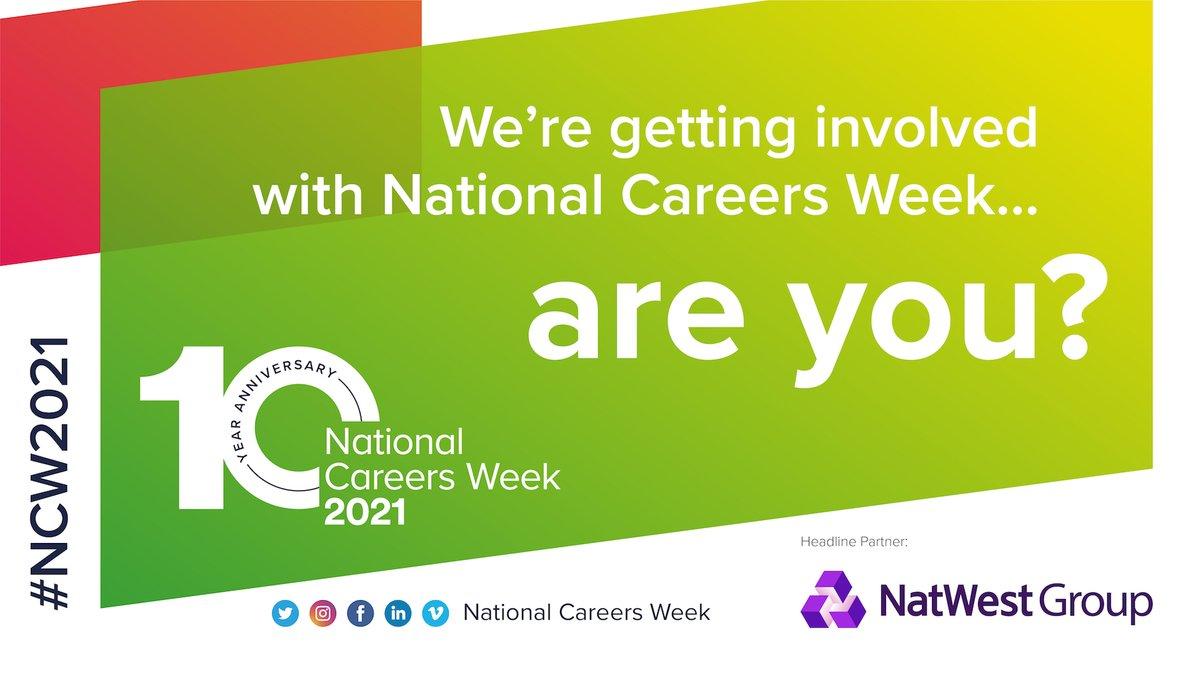 Tweet National Careers Week!    #education #students #careers #nurses #opportunity #change #highereducation #CharltonPride #Homelearning #HandsFaceSpace #ProtectNHS #SaveLives #teamblue #NCW2021