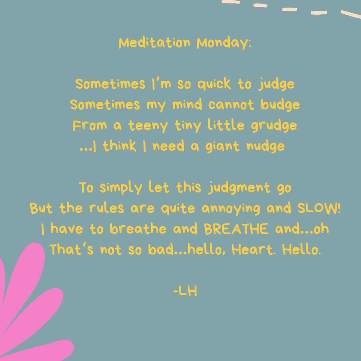 You know what, #mindfulness can be hard! Here's a little #MondayMindfulness reminder to let you know that you're not alone. Just keep on breathing, my friends 💜  #MeditationMiracles #MondayMotivation #mondaythoughts #mindfulnessforkids