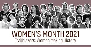 Celebrating the trailblazers!!! Let's continue to make HISTORY! #WomensHistoryMonth
