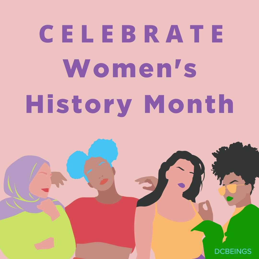 """Let's celebrate our Queens! This month, we challenge all Women to free themselves from thinking they have to be anything other than who they choose to be. Drop a """"👑"""" in the comments below & mention an influential Queen in your life. #WomensHistoryMonth #WHM"""