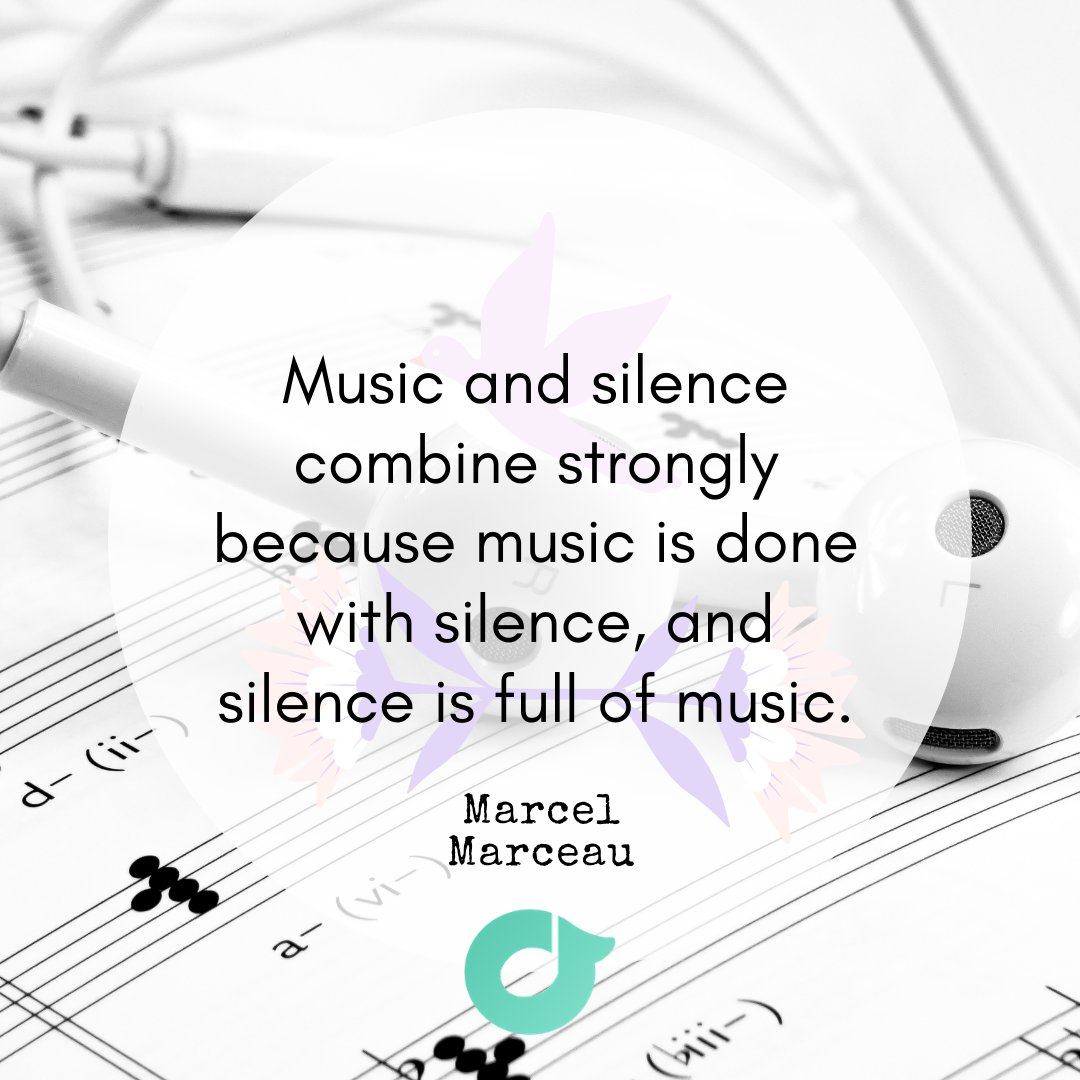Silence is not the opposite of music but the mother of music. Both carries meaningful and soulful presence!  #TuneKey #Music #musiclesson #metronome #musicapp #onlinemusuclesson #musicians #magic #musicapp #musicmemes #musicquote #quotes #photoquote #motivation #musiceffect