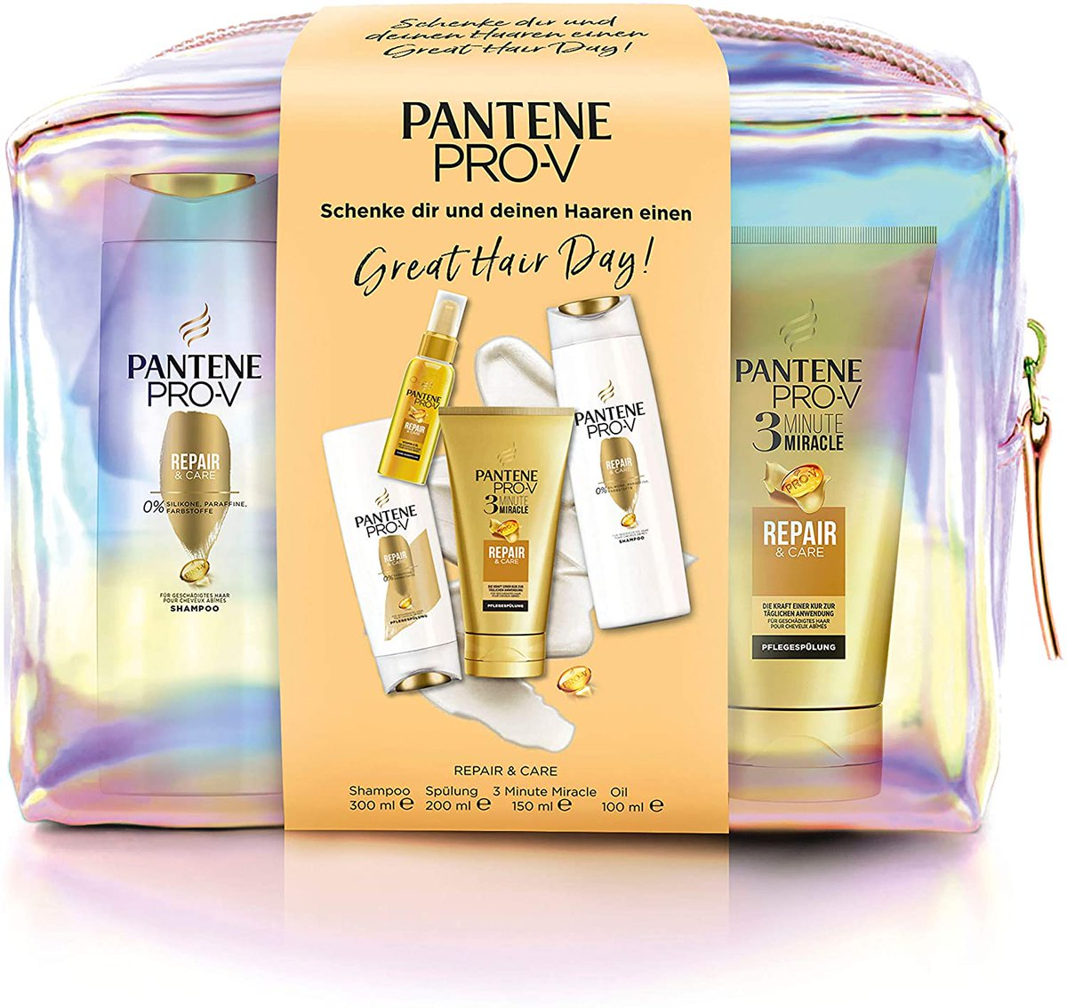 Pantene Pro-V gift set. Lots of products for a really low price. More info:  #ad #Pantene #hair