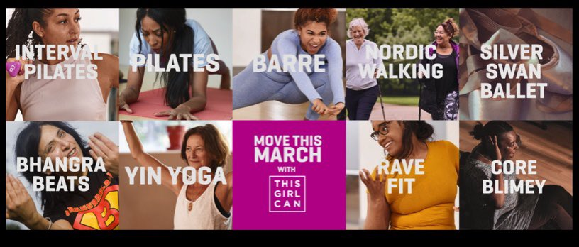RT @IvanhoeCollege: MOVE THIS MARCH; Leicestershire and Rutland Sport are running Move This March with This Girl Can! There is a small cost for the whole month of activities, and you can see the timetable for week 1 and 2 here! Check it out if you are interested! @LR_Sport