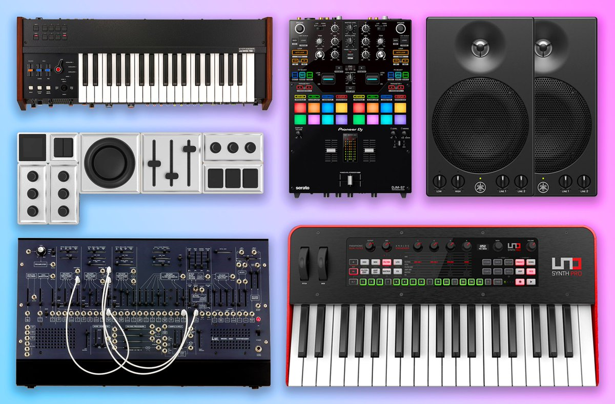 What piece of #studio gear do you want to get your hands on this year? #ad  @Point_Blank, @KorgUK, @PioneerDJglobal, @monogramcc, @ikmultimedia, @YamahaUK