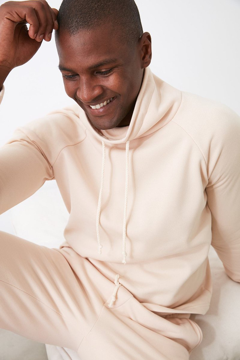 Trendyol Upright Collar Gusset Sweatshirt  R 224.99 #Holyhost #Trendyol #Upright #42213210stones #Men