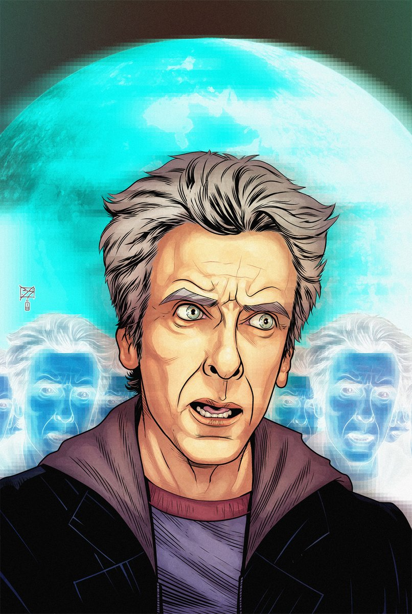 #tbt Twelfth Doctor cover. Published, I think.