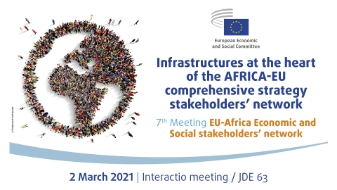 Interested in #EUAfrica relations & cooperation? Tomorrow the @EESC_REX holds the 7th meeting of African & EU economic and social stakeholders, to discuss: 1⃣ #Covid19 2⃣ #EUGreenDeal & Africa 3⃣ Africas economic integration Follow @EESC_REX More info: europa.eu/!fc83rp