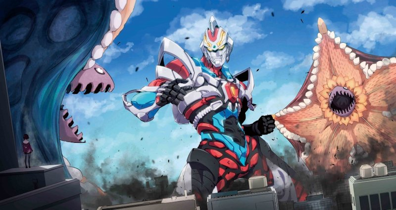 """It's almost as fun to try and catch references as it is watching the gripping drama unfold!""  An in-depth look at Studio Trigger's incredible SSSS.Gridman available now from @MangaUK    #anime #SSSSGRIDMAN #Kaiju #StudioTrigger #animeuk"