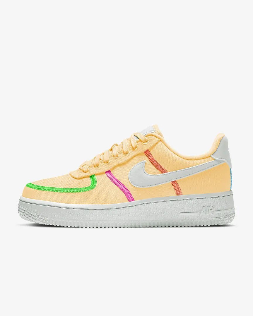#ad The Nike Women's Air Force 1 LX 'Melon Tint/Poison Green' is now available via @snipes_usa for $80! (retail $110) #SneakerScouts @Nike