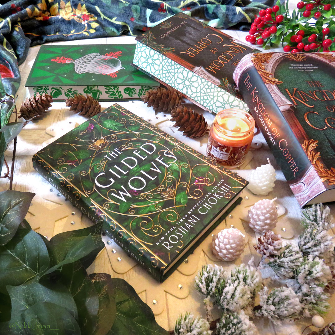 Just a green stack for today to honor all the trees that managed to survive in this world...  #yabooks #fantasybooks #trees #nature #thegildedwolves #thekingdomofcopper #thecruelprince #bookstagram #booklover #fairyloot #cardan #yafantasy